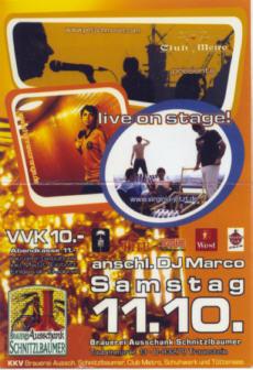 · Virginia Jetzt! ~ Petsch Moser ~ Hannes Orange ~  presented by Club Metro·